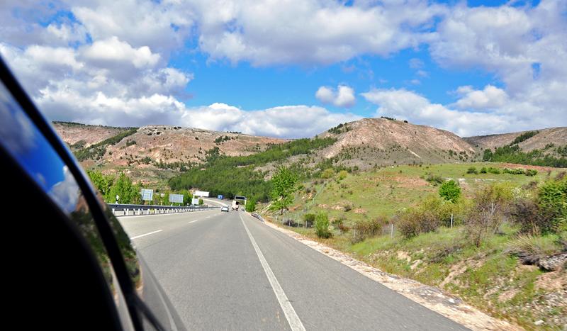 Droga z Madrytu do Saragossy