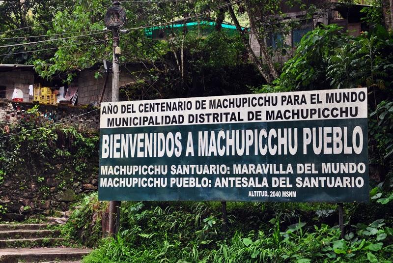 Machu Picchu znak