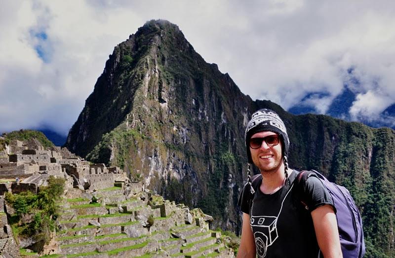 widok na Machu Picchu