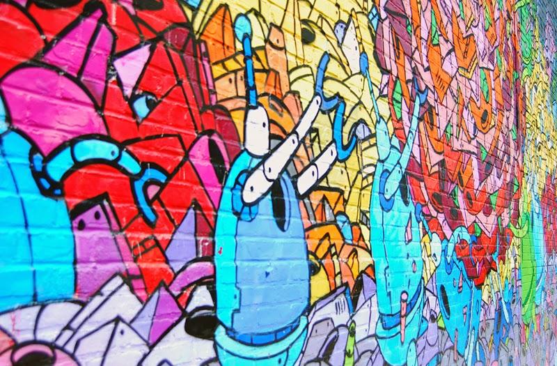 Nowy Jork street art