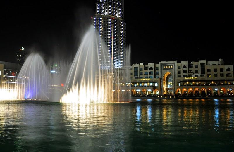 tańczące fontanny dubaj