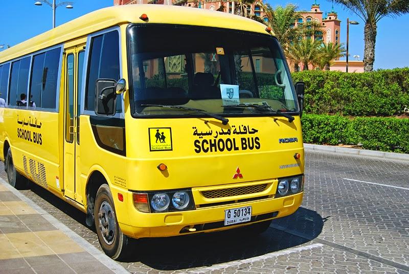 autobus w dubaju