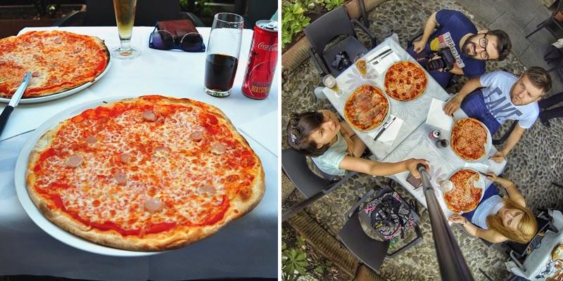 pizza w Bergamo