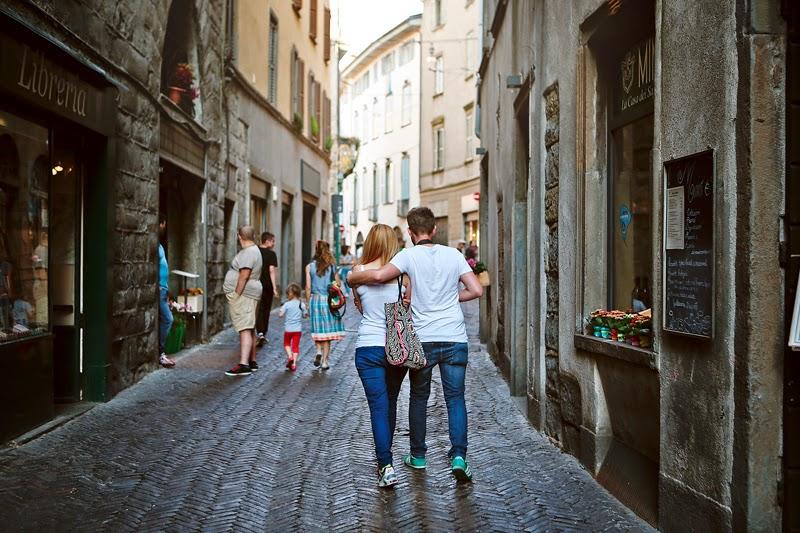 spacer po Bergamo