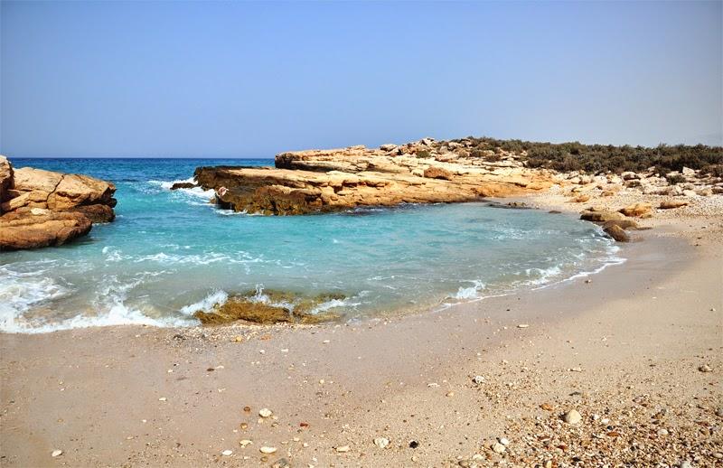 oman plaża