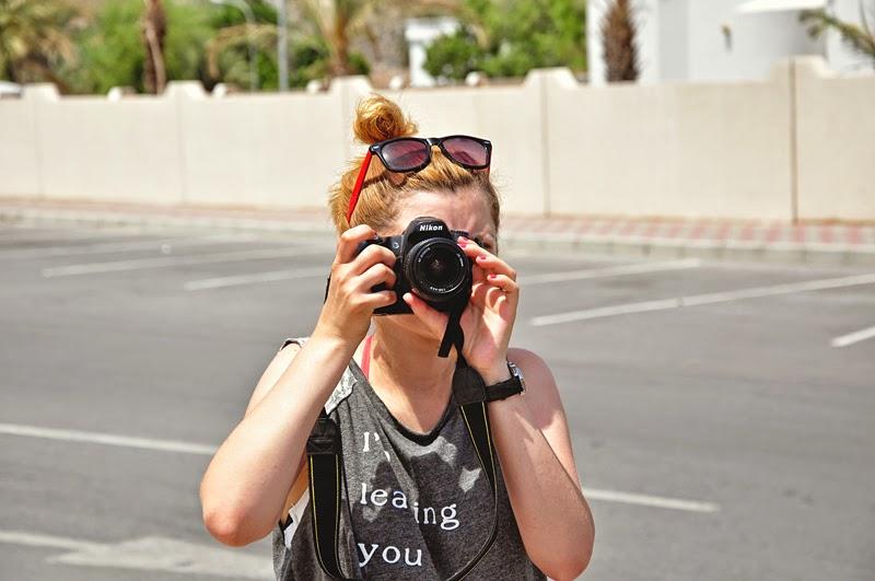 Monika w Omanie