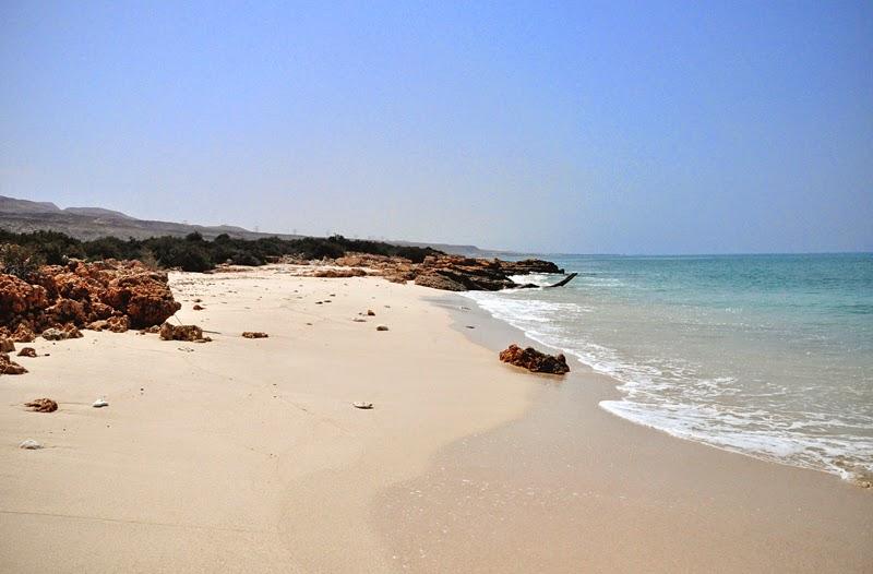 plaża w omanie