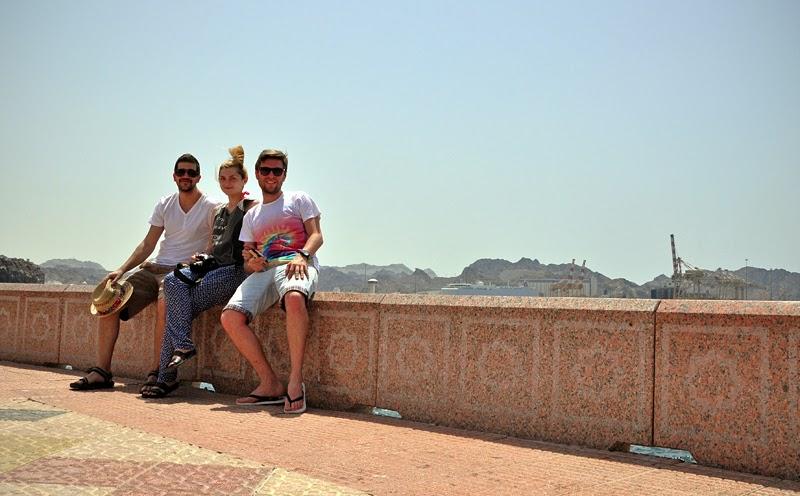 turyści w Omanie