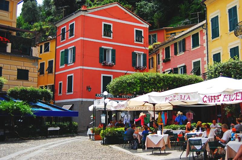 włoskie restauracje w Portofino