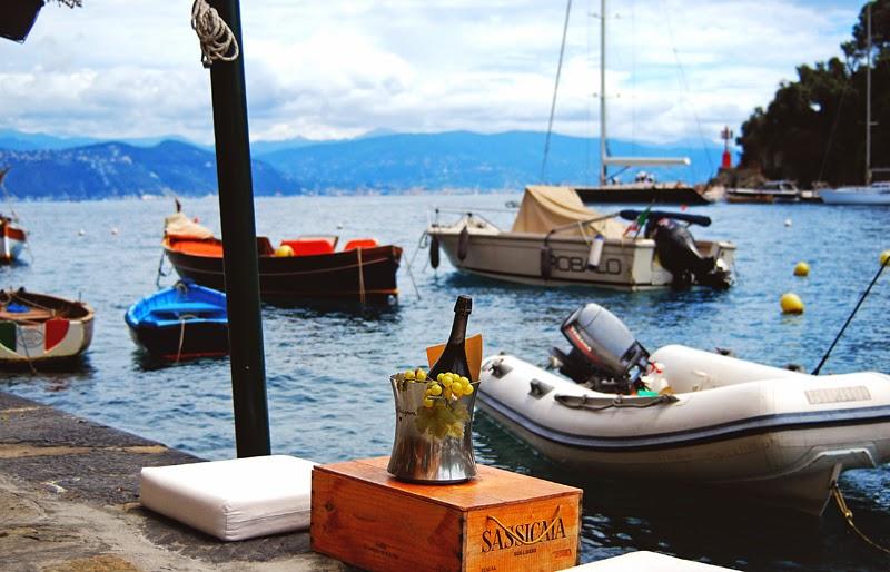 Morze Liguryjskie w Portofino