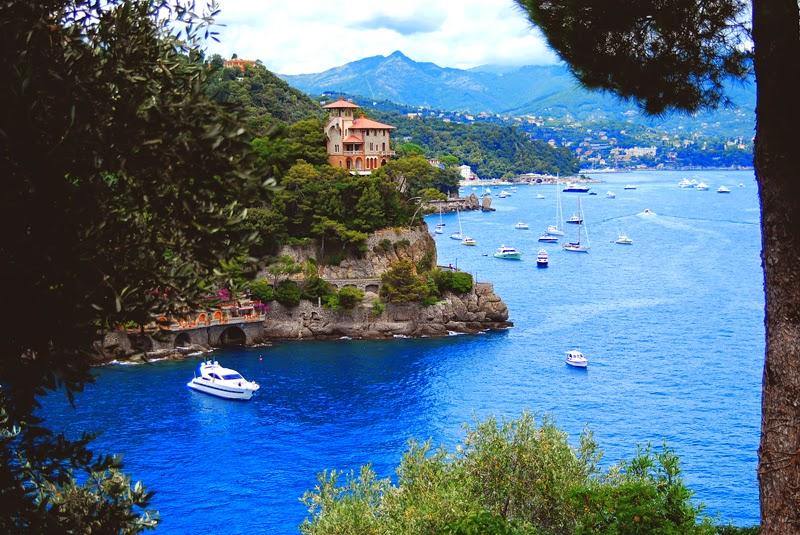 Lazurowe Morze w Portofino