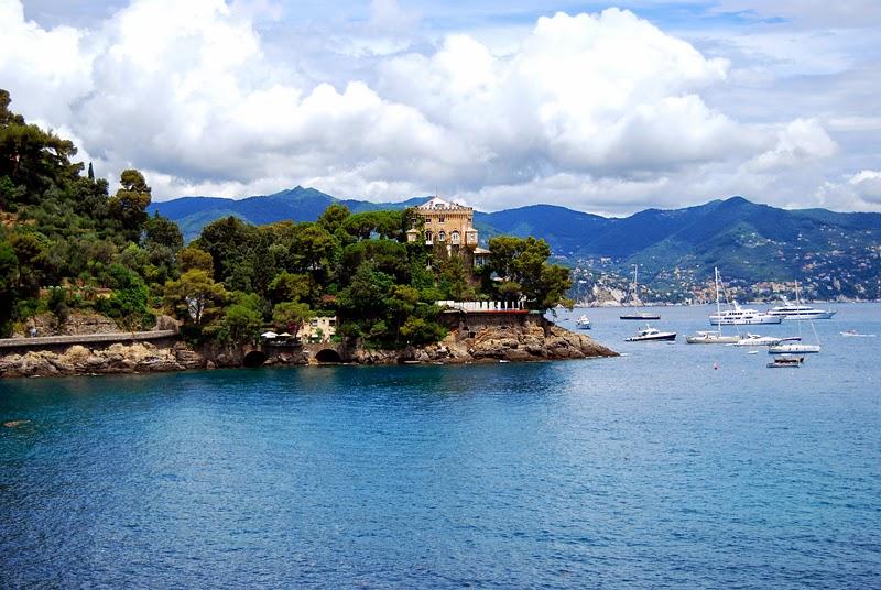 włoskie wybrzeże Liguria