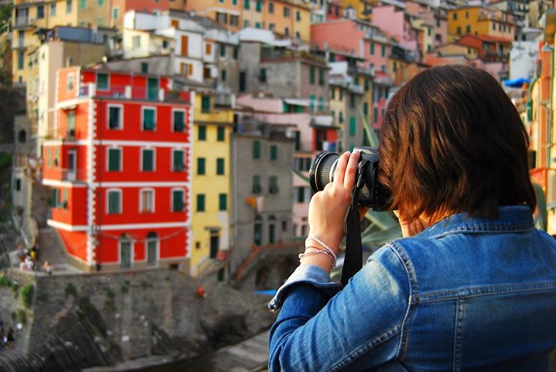 kolorowe domy w Riomaggiore