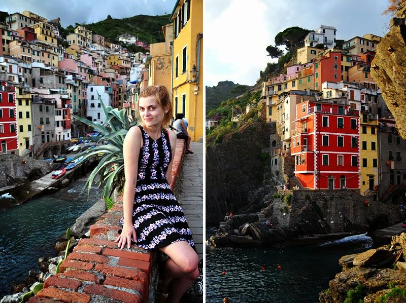Zwiedzanie Riomaggiore we Włoszech