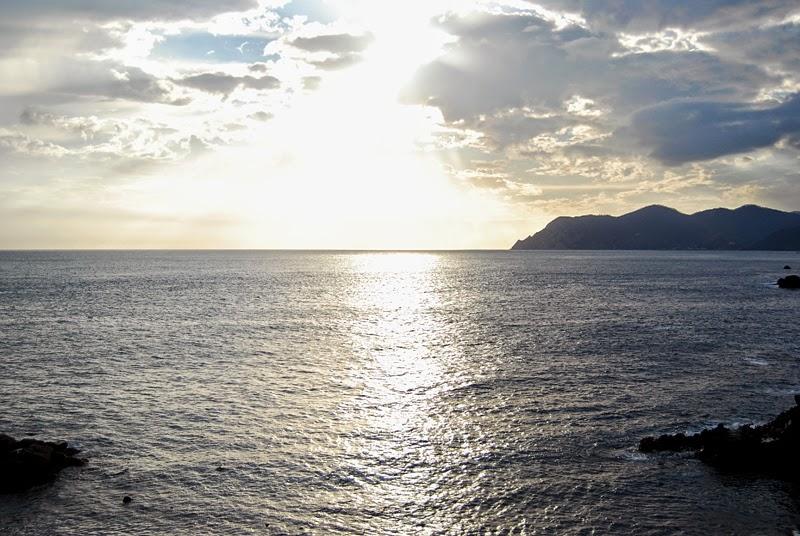 Morze Liguryjskie w Riomaggiore