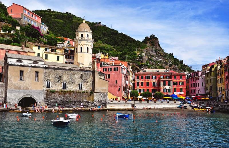 kolorowe domy Vernazza