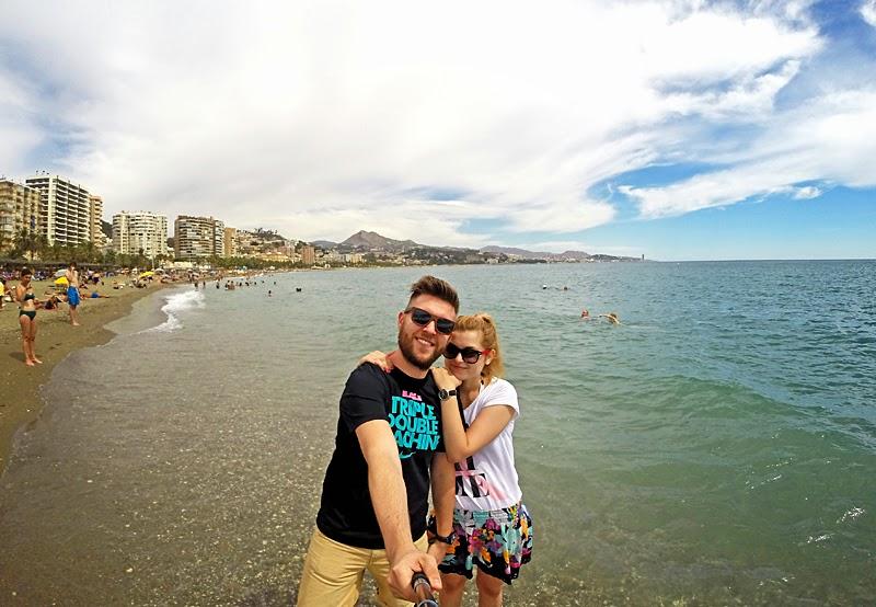 Malaga plaża
