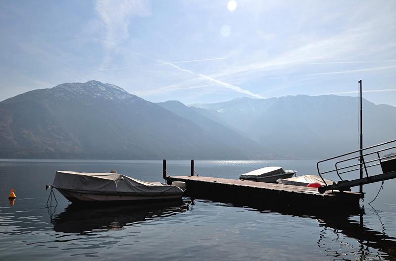 Widoki nad Jeziorem Como
