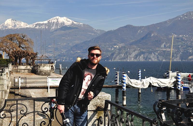 Hubert nad Jeziorem Como
