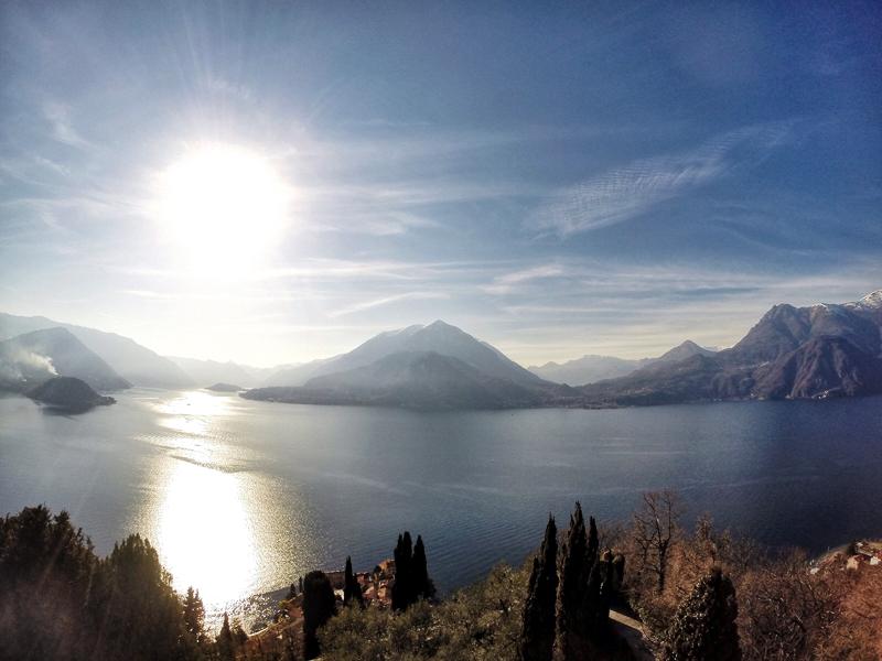Jezioro Como panorama