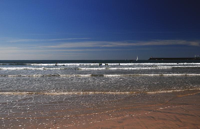 wybrzeże w pobliżu Porto Portugalia
