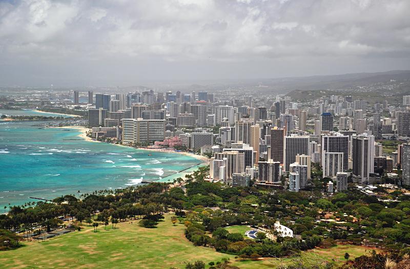 Honolulu na Hawajach