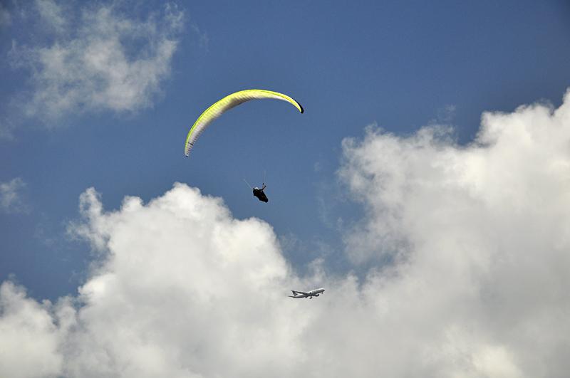 Paralotnia na Hawajach