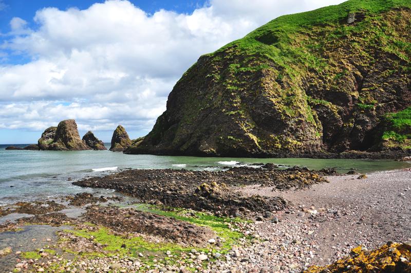 szkockie wybrzeże