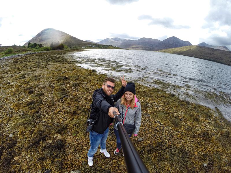 droga do Isle of Skye