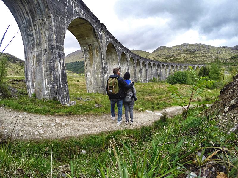 Wiadukt Glenfinnan Szkocja