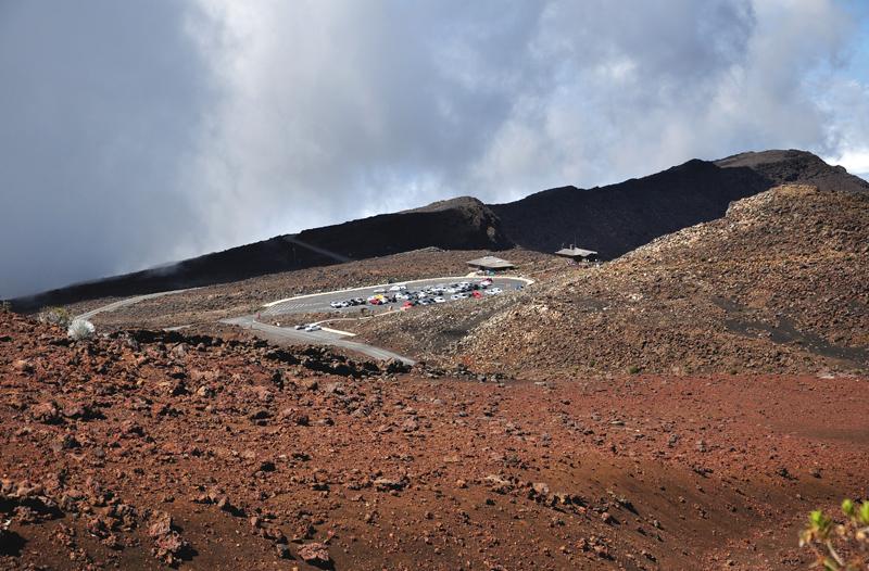 wulkan na Maui widoki