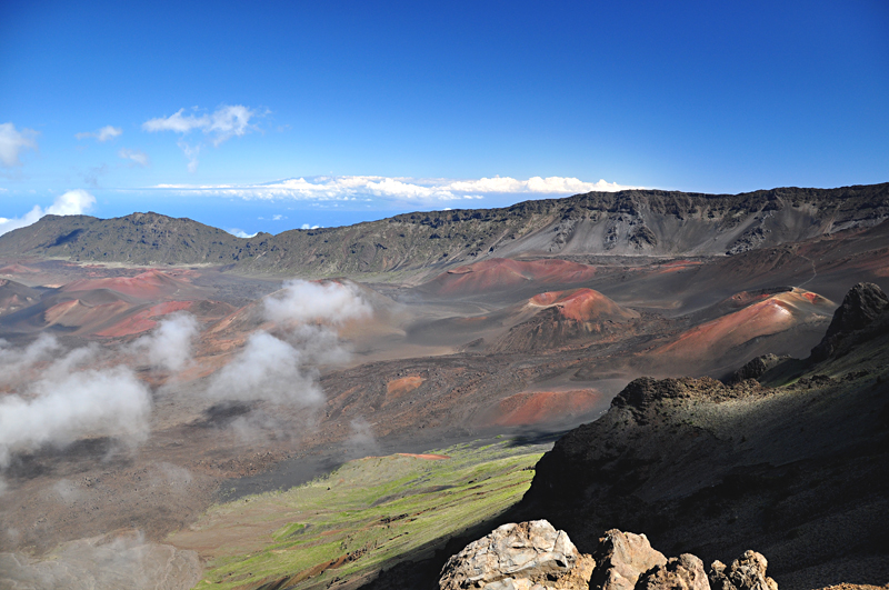 krajobraz na wulkanie Haleakala