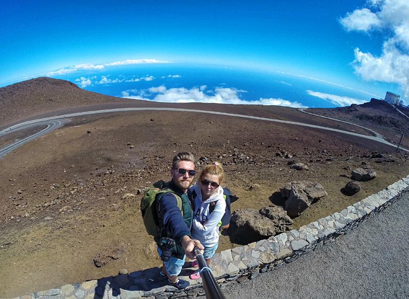 selfie na Haleakala