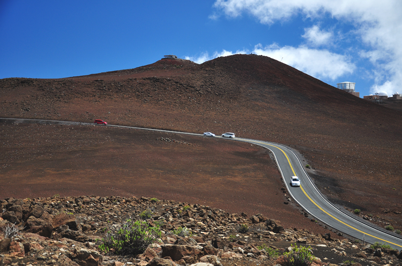 droga na wulkanie Hawaje