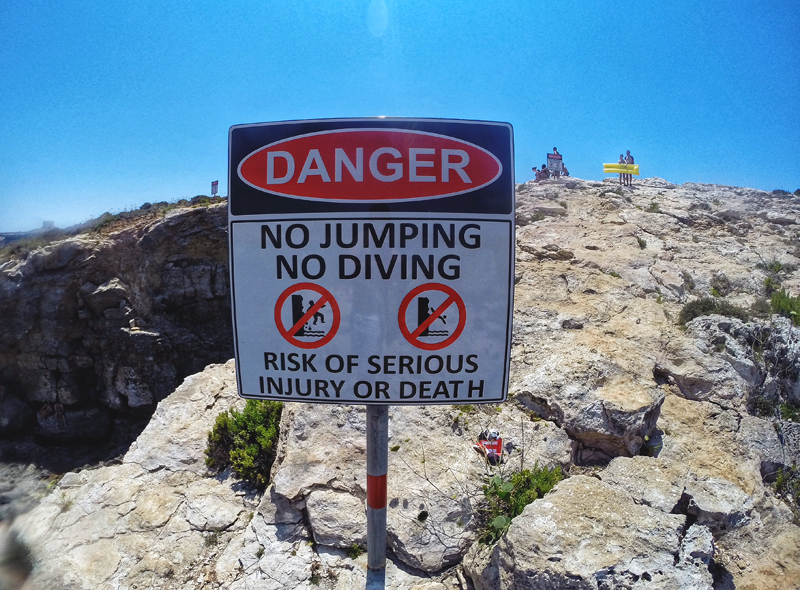 danger malta