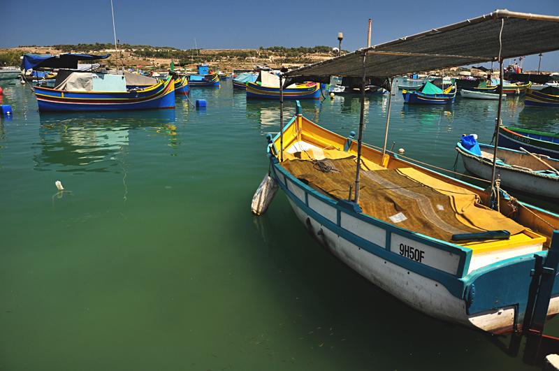 Marsaxlokk mała rybacka wioska