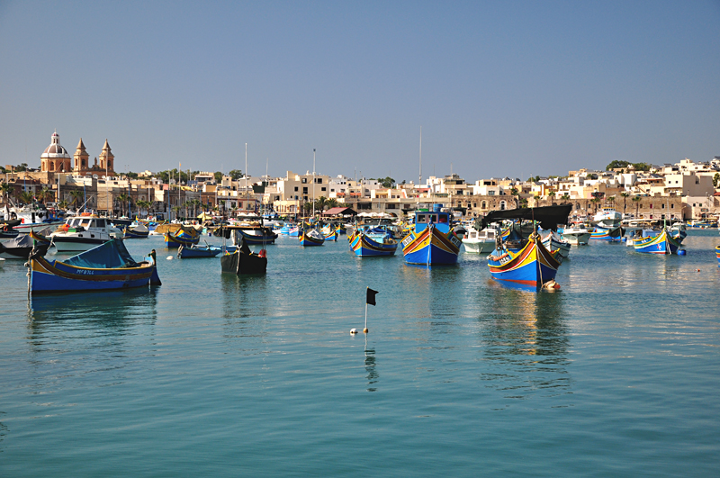 krajobraz na Malcie
