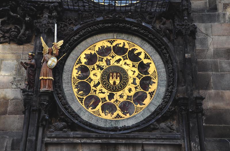 zegar w Pradze