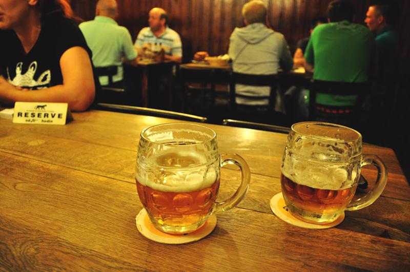czeskie piwo Praga