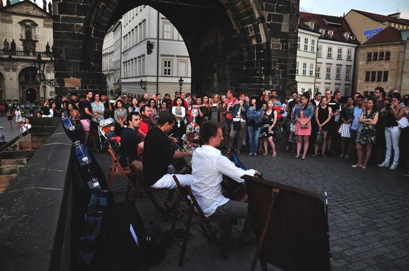 wieczór koncert most Karola Praga