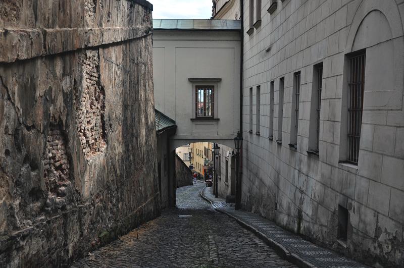 ulica Praga Czechy