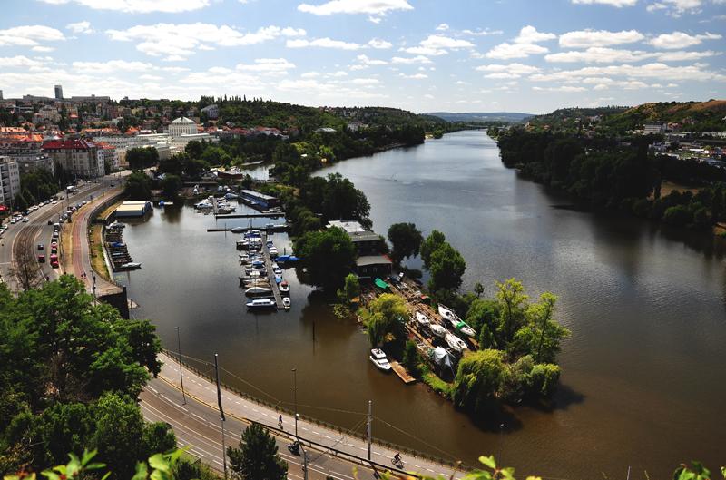 rzeka w Pradze