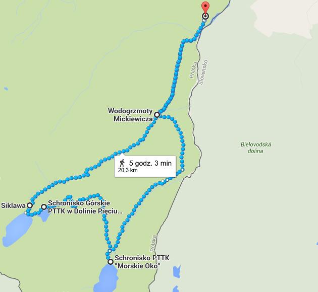 szlak w tatrach
