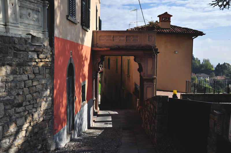 starówka w Bergamo