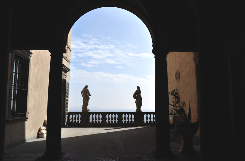 widoki w Bergamo
