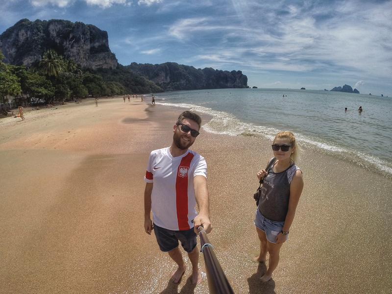 Ao Nang Krabi w Tajlandii
