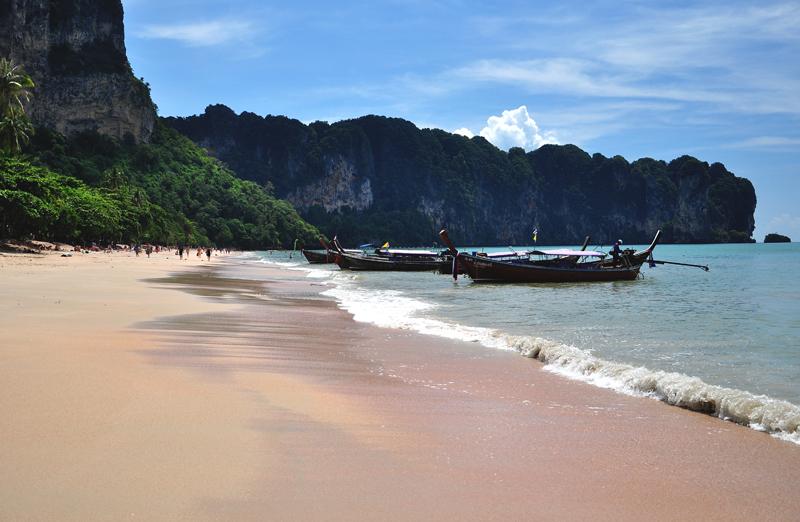 plaża w Ao Nang Krabi Tajlandia