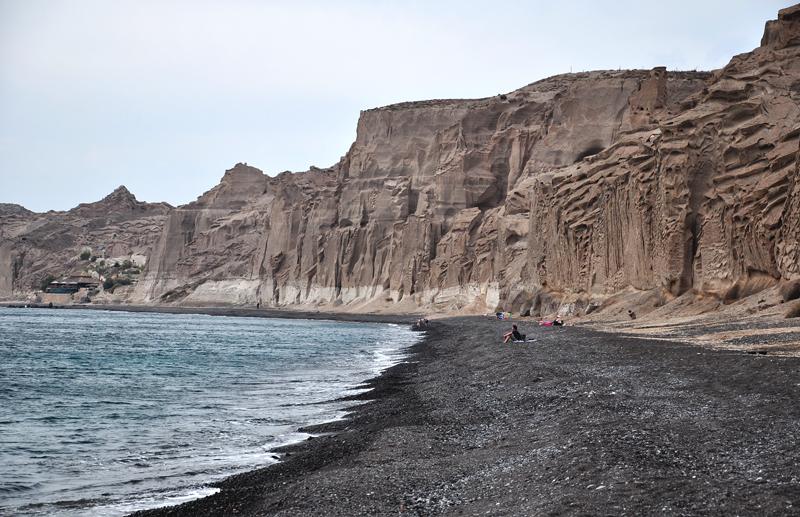 Santorini plaże