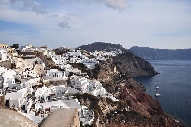 Oia Grecja