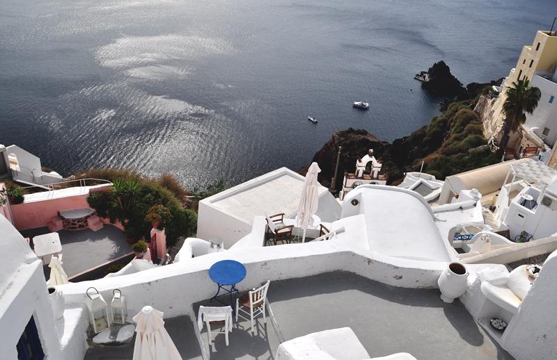 krajobrazy na Santorini